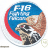 """INDONESIA - Indonesian Air Force F-16 """"Fighting Falcon"""" pilot sleeve swirl patch"""