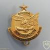 GHANA Immigration Service (GIS) cap badge img52831