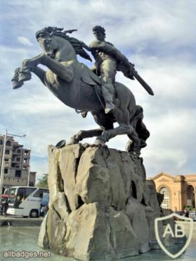 Yerevan, Sasuntsi Davit statue img56433