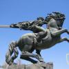Yerevan, Sasuntsi Davit statue img56432