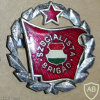 Hungarian Socialist Brigade Members Badge