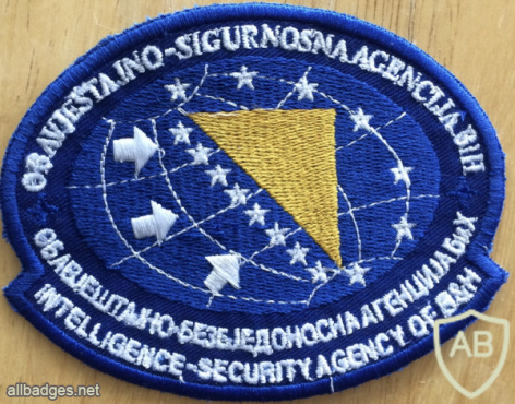 Intelligence & Security Agency of Bosnia & Herzegovina Patch img57938