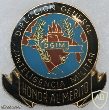 Venezuela - General Directorate Military Intelligence Badge img58156