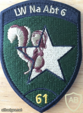 Switzerland - Air Force - Intelligence Section 6, 61 Coy Patch img58869