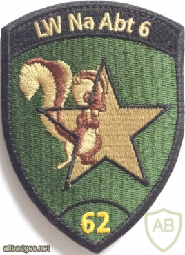 Switzerland - Air Force - Intelligence Section 6, 62 Coy Patch img58870