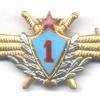SOVIET UNION Air Force Pilot 1st Class wing badge, 1966-1990