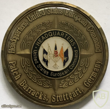 United States Military European Command Headquarters Counterintelligence Challenge Coin img60670