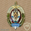 Russia FSB Moscow Border Institute veteran badge