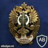 Russia Border Academy Honorary Professor badge img61579