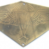 SYRIA Senior Parachutist wings, engraved